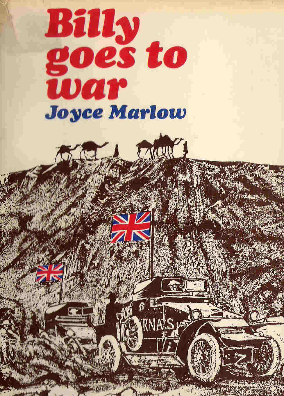 Picture of the Dust Jacket for Billy Goes to War