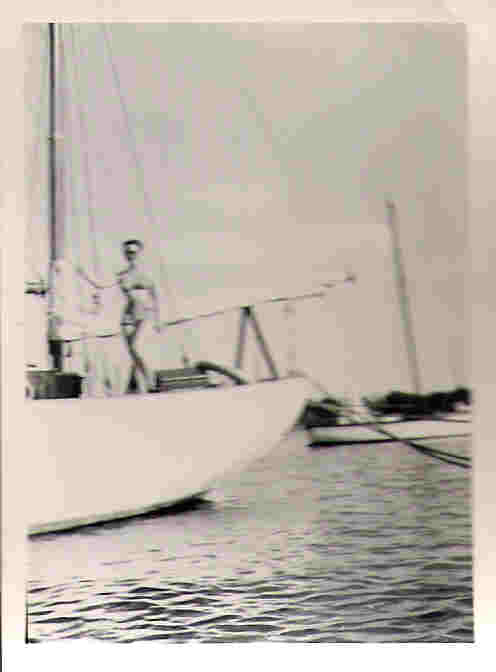 Picture of Joyce on the boat