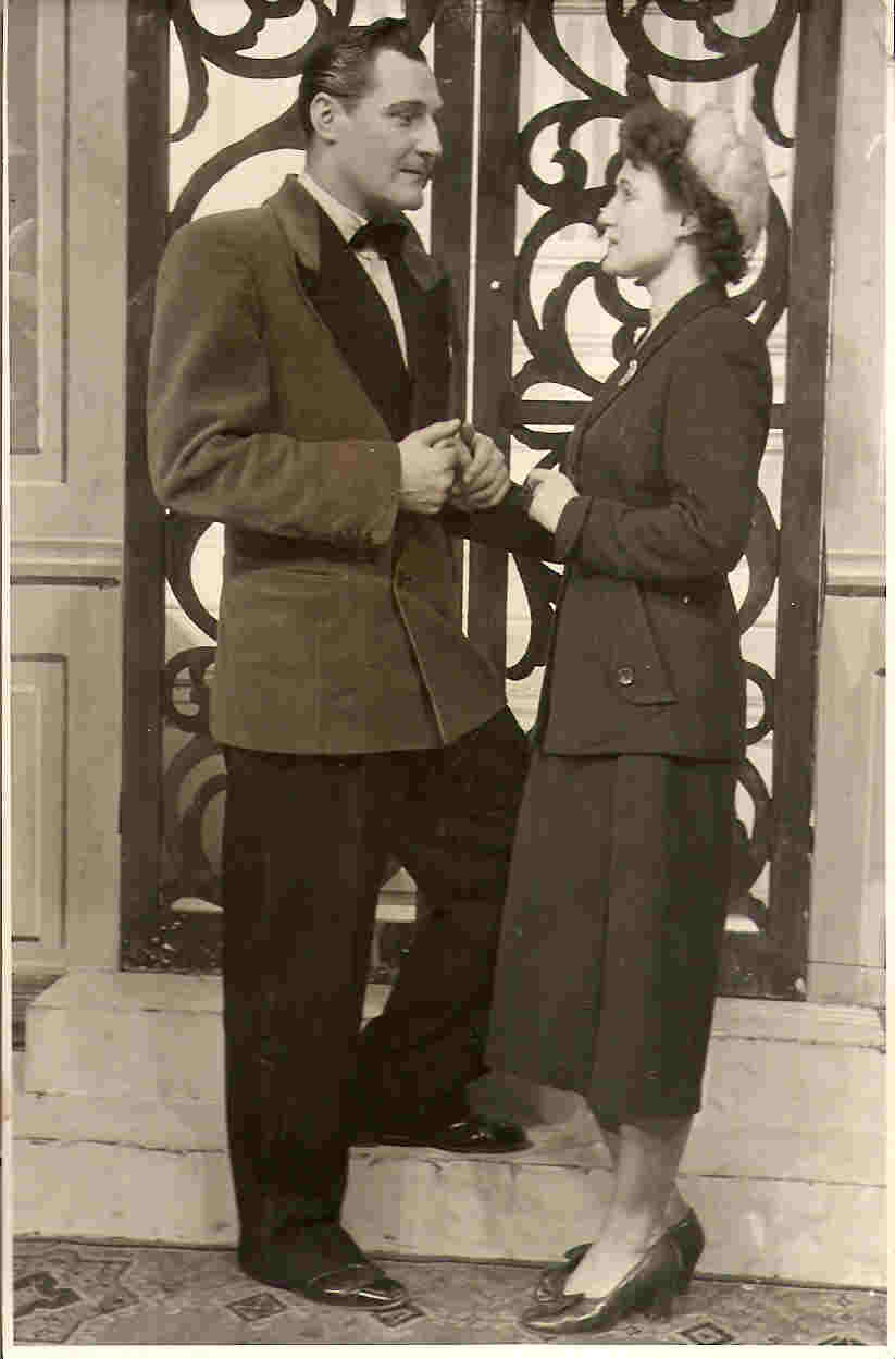 Picture of Joyce With Phillip Barrett