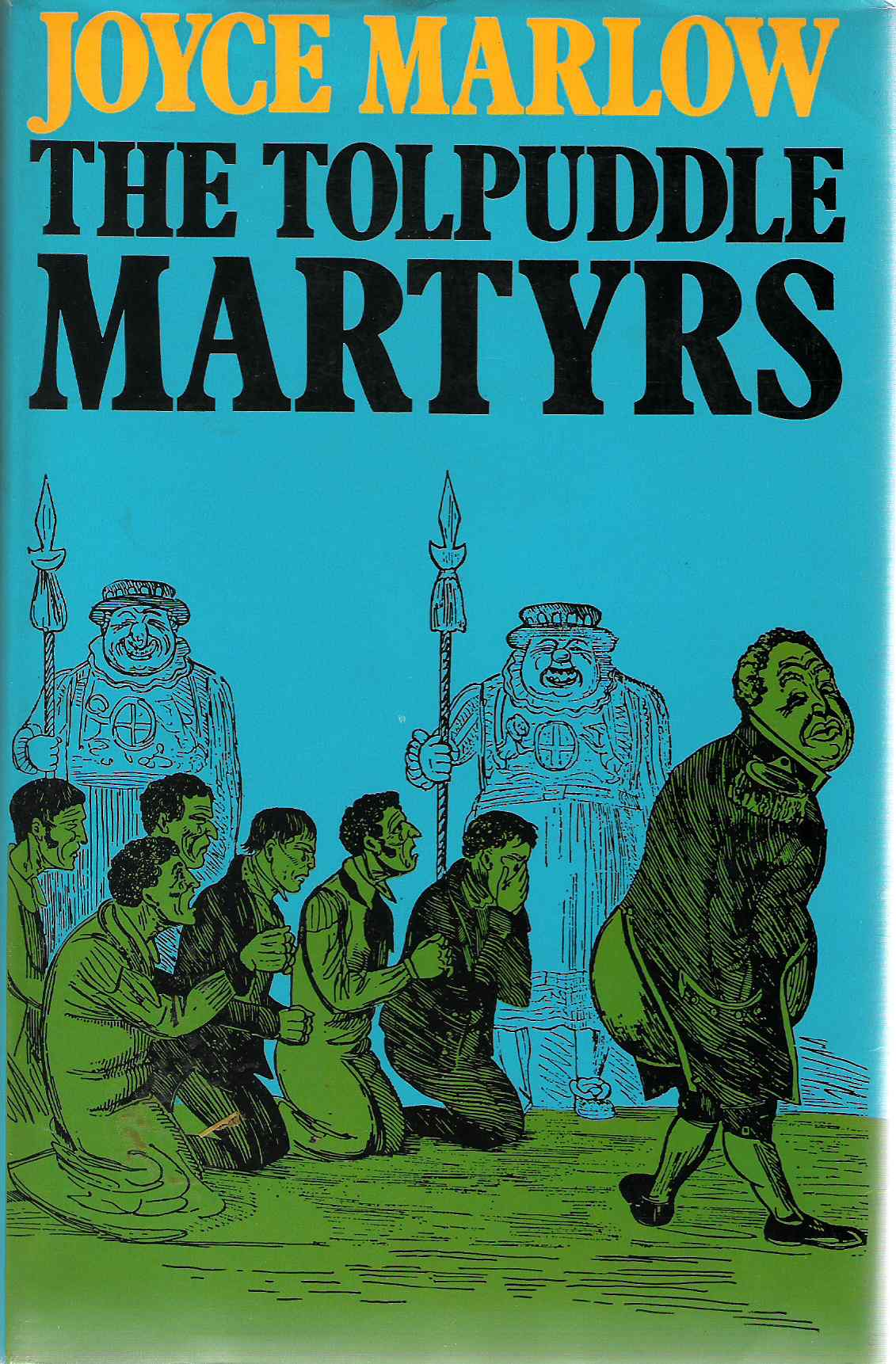 Picture of the Dsut Jacket for The Tolpuddle Martyrs